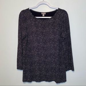 J. Jill Wearever Collection Pullover Stretch Top
